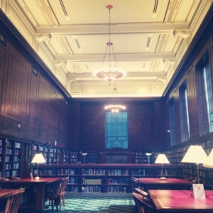 My favorite room in the library.